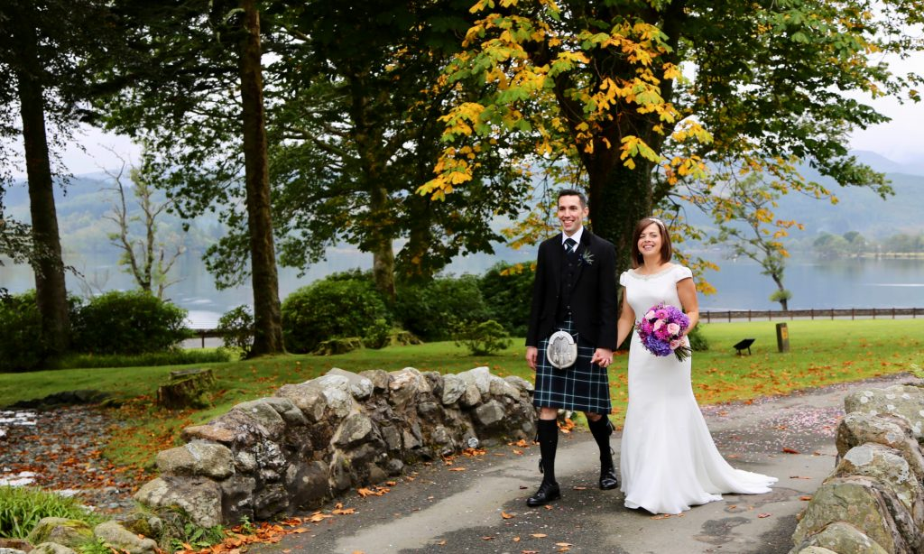 a wedding at Altskeith Country House